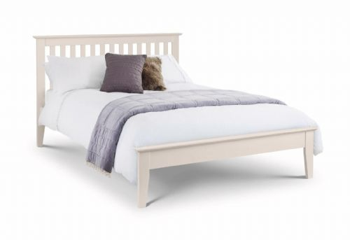 Tremezzo bed - Ivory Lacquered Finish - 150cm